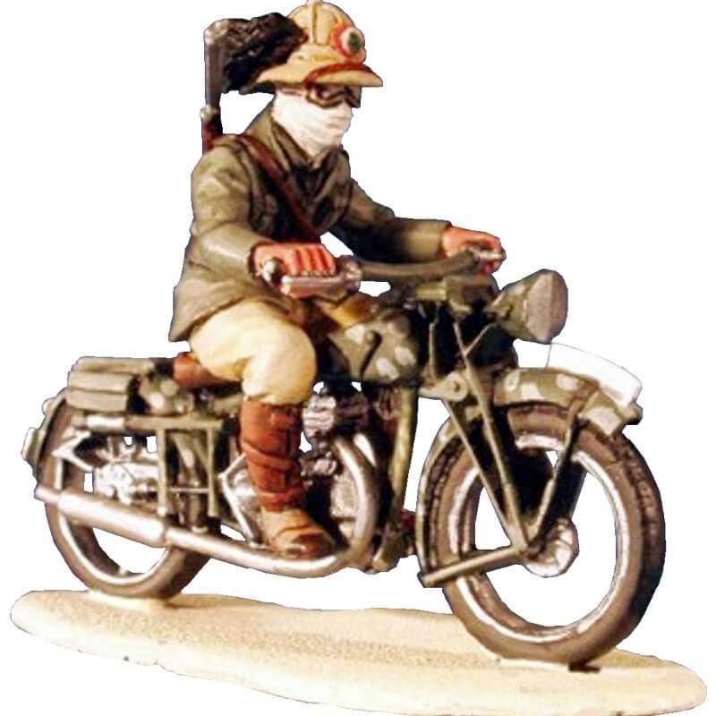 Italian bersagliere & Gilera motorbike