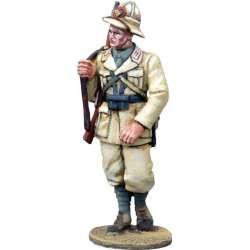 WW 154 toy soldier infantería italiana marchando Africa 4