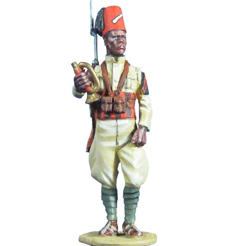 Ejército italiano Muntaz 66th eritrean colonial BN