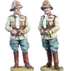 Italian army Officer 66th eritrean colonial BN