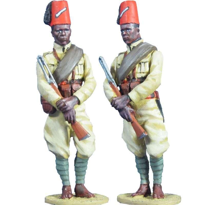 Ejército italiano Soldado 2  66th eritrean colonial BN