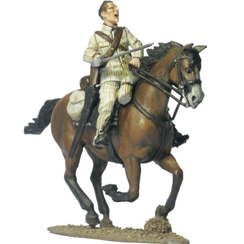 Alfonso XII cazadores regiment trooper Taxdirt 1909