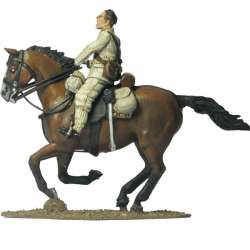 NP 119 FRENCH IMPERIAL GUARD CHASSEURS STANDARD BEARER
