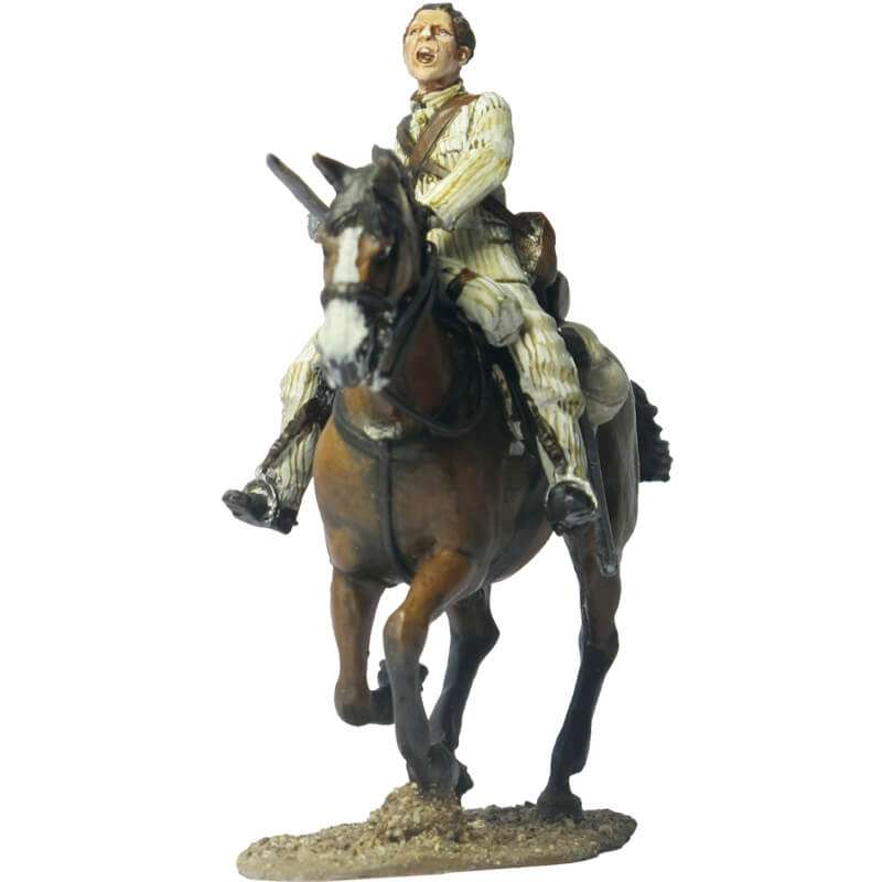 NP 120 FRENCH IMPERIAL GUARD CHASSEURS OFFICER