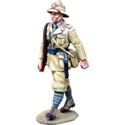 WW 155 toy soldier infantería italiana marchando Africa 5