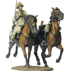 Soldado y caballo sin jinete regimiento cazadores Alfonso XII Taxdirt 1909