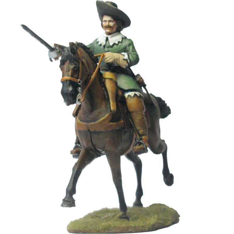 Oficial caballería francés