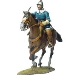 French officer with borgoñota Rocroi
