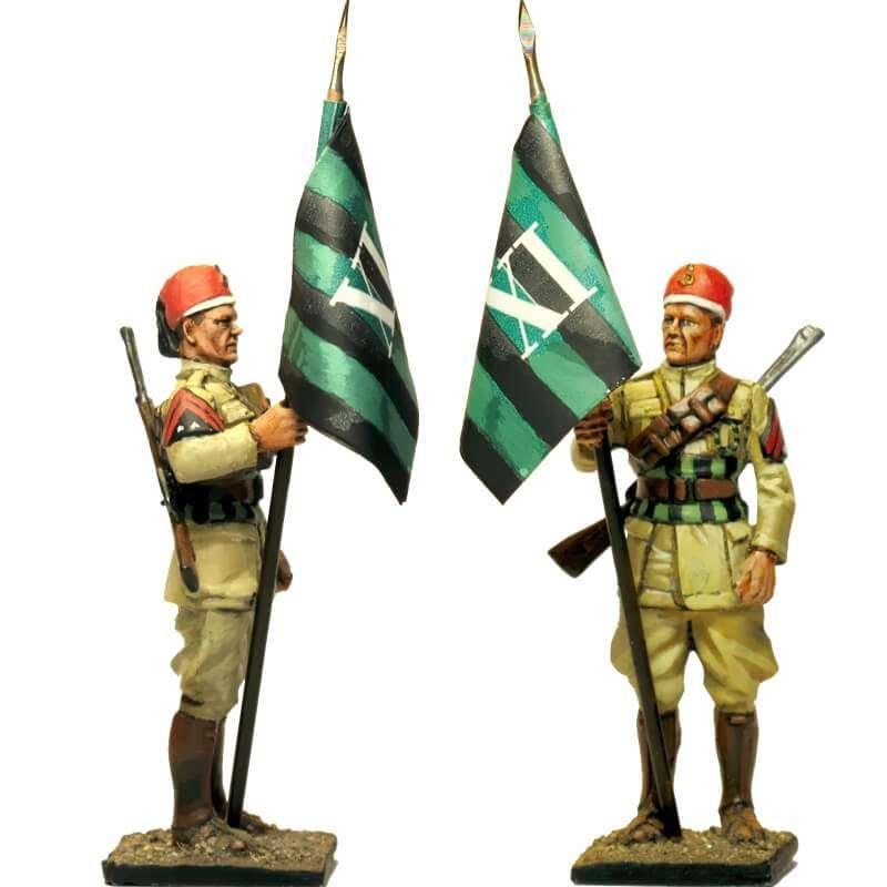Bandera 11 rgt Askaris líbios