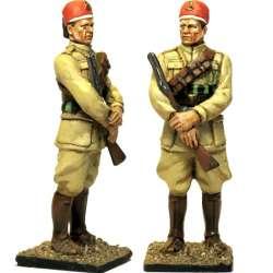 Soldado 11 rgt Askaris líbios