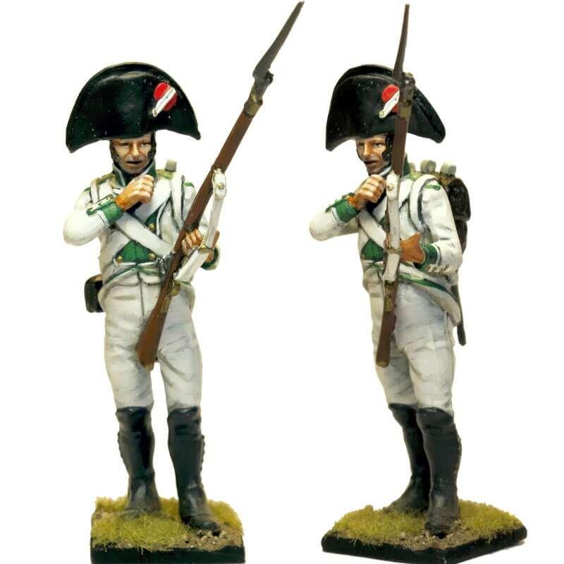 Fusilero regimiento infantería Zaragoza 1808