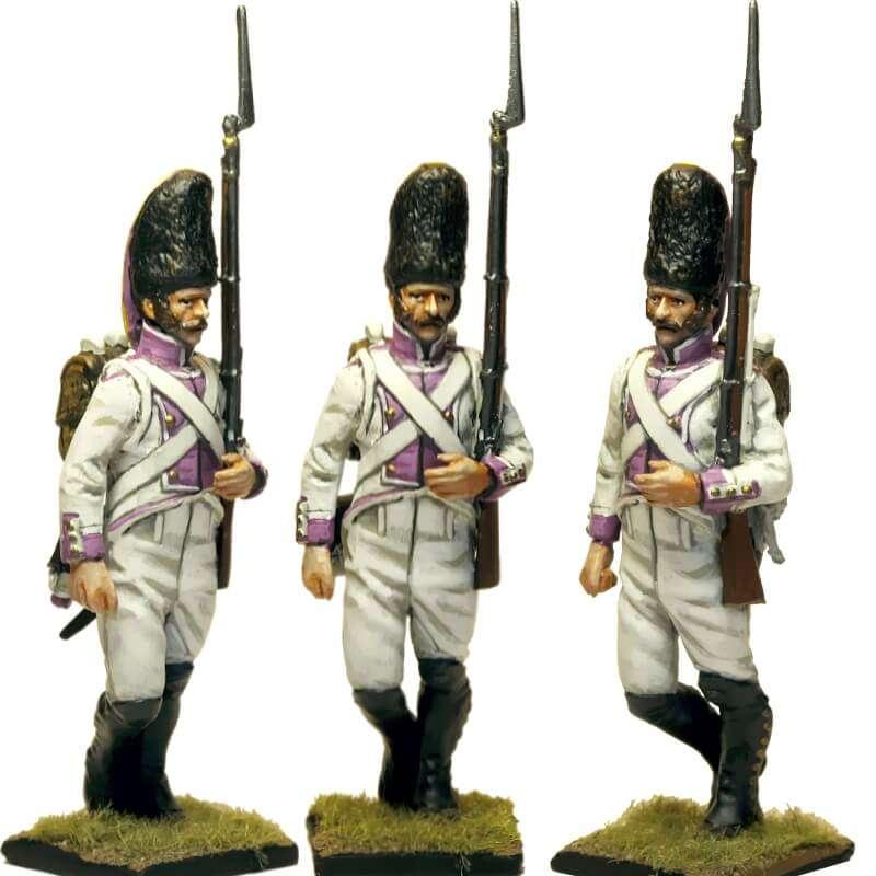 Regimiento del Rey 1808 grenadier