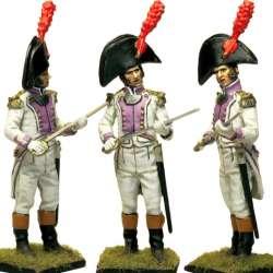 Regimiento del Rey 1808 officer
