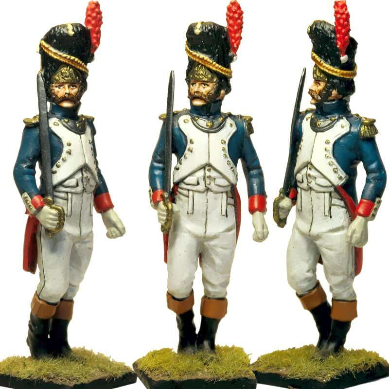 French imperial guard grenadier officer