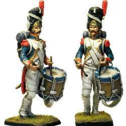 French imperial guard grenadier drummer