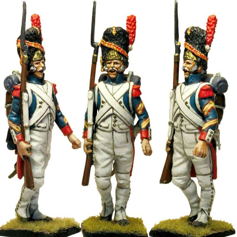 French imperial guard grenadier NCO