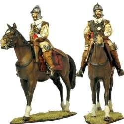 Oficial caballería español