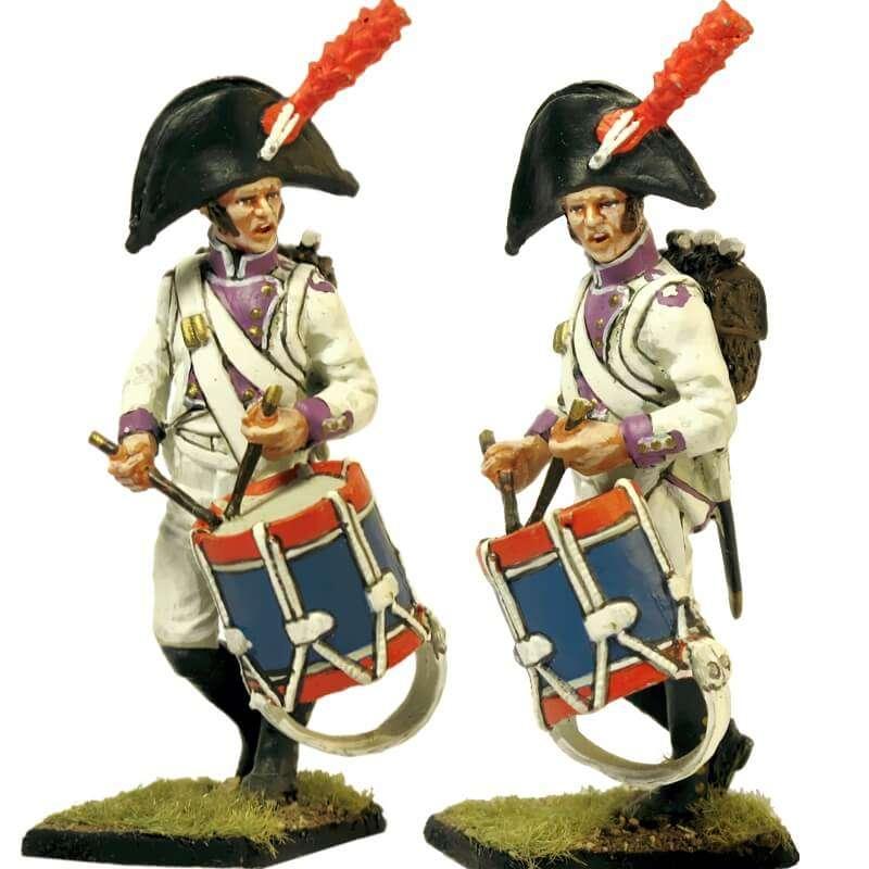Regimiento del Rey 1808 drummer