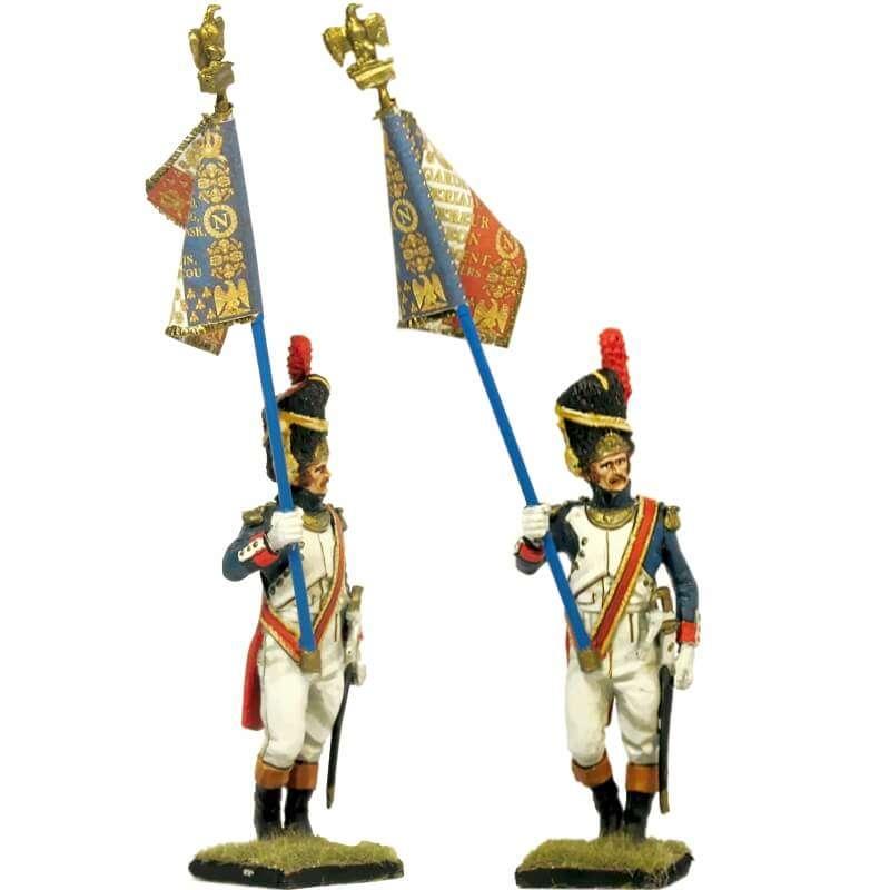 Bandera granaderos guardia imperial