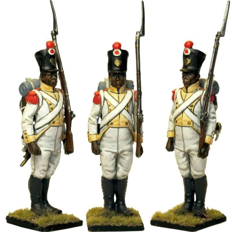 Regimiento África napolitano Granadero 1