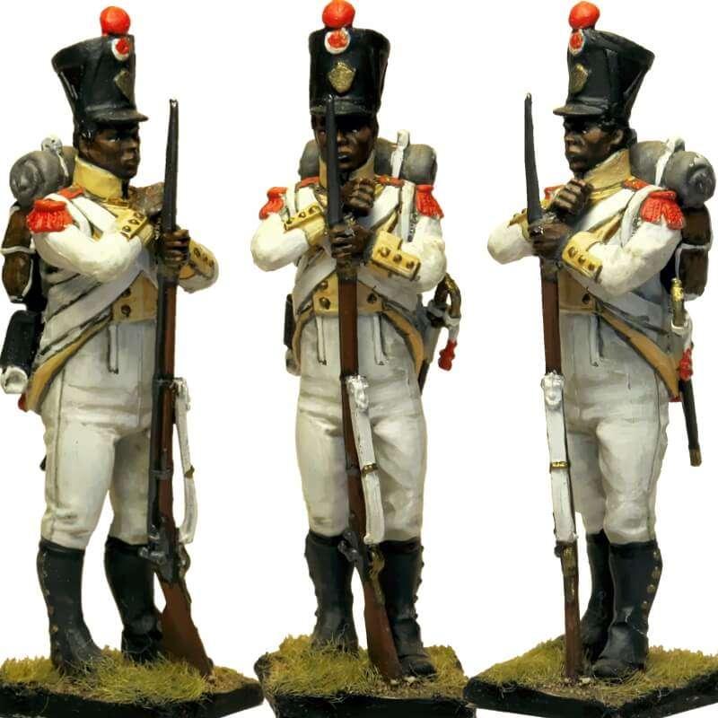 Regimiento África napolitano Granadero 3
