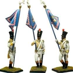 Neapolitan Africa regiment standard bearer