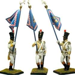 GRAND DUCHY DE VARSOVIE LEGION DU NORD STANDARD BEARER