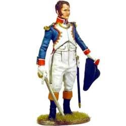 Oficial granadero infantería línea francesa 1805