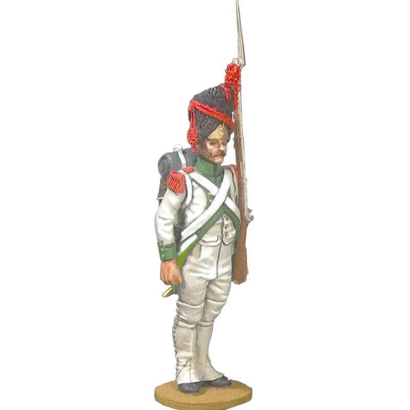 Granadero cuarto rgt infantería línea 1806