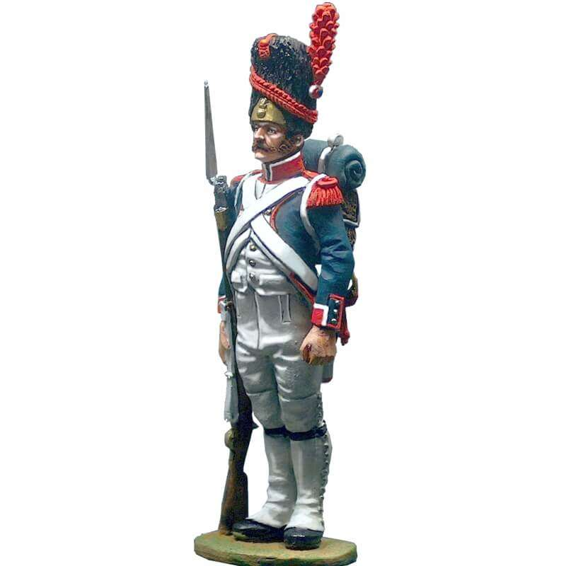 Granadero infantería línea traje de gala 1809