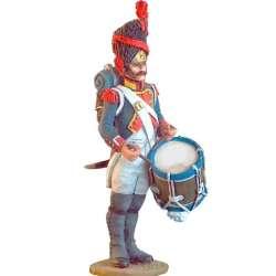 Tambor granaderos 18 infantería línea francesa