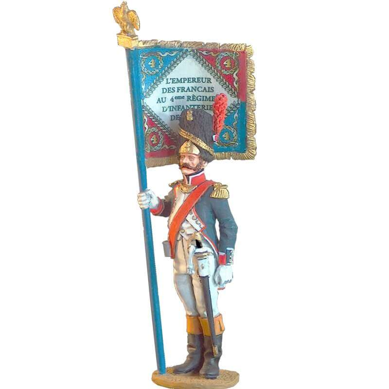French line infantry grenadiers standard bearer