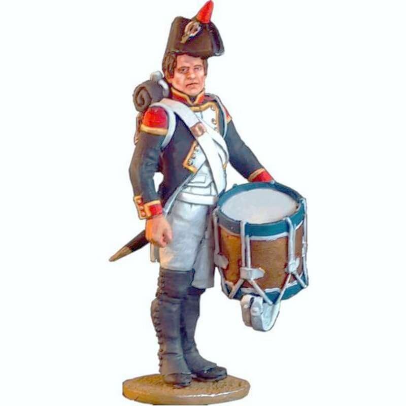 Tambor Fusileros de infantería de línea 1804-1805