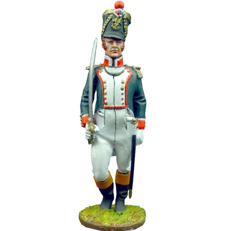 Oficial granaderos línea francesa 1815