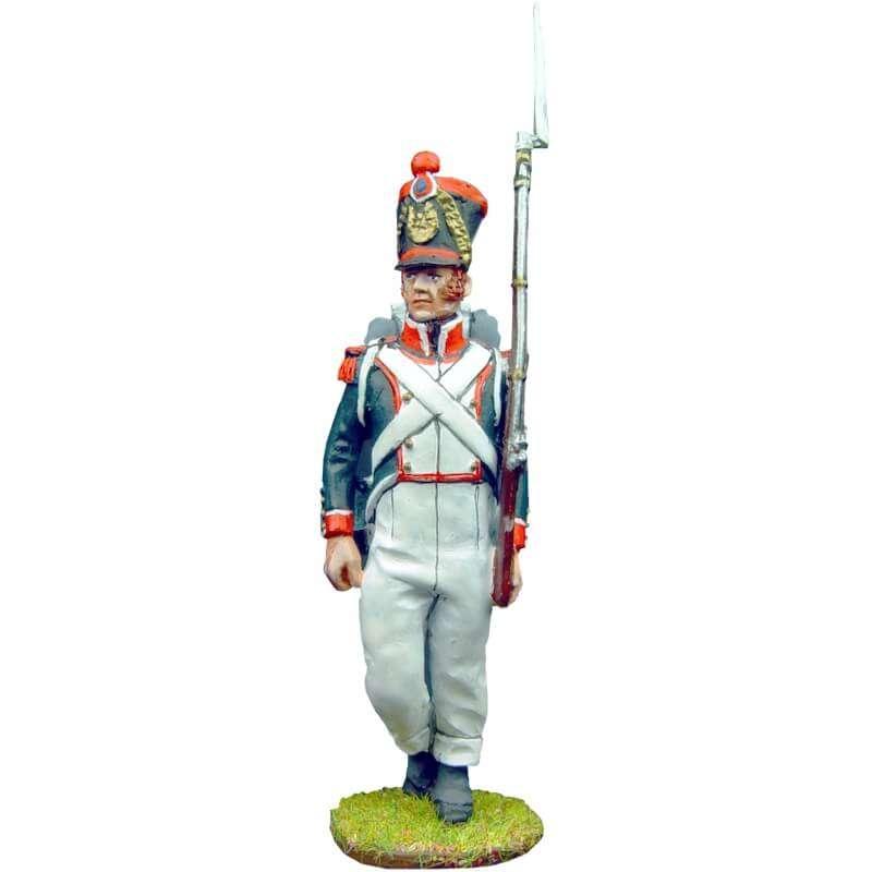 Soldado 2 granaderos línea francesa 1815