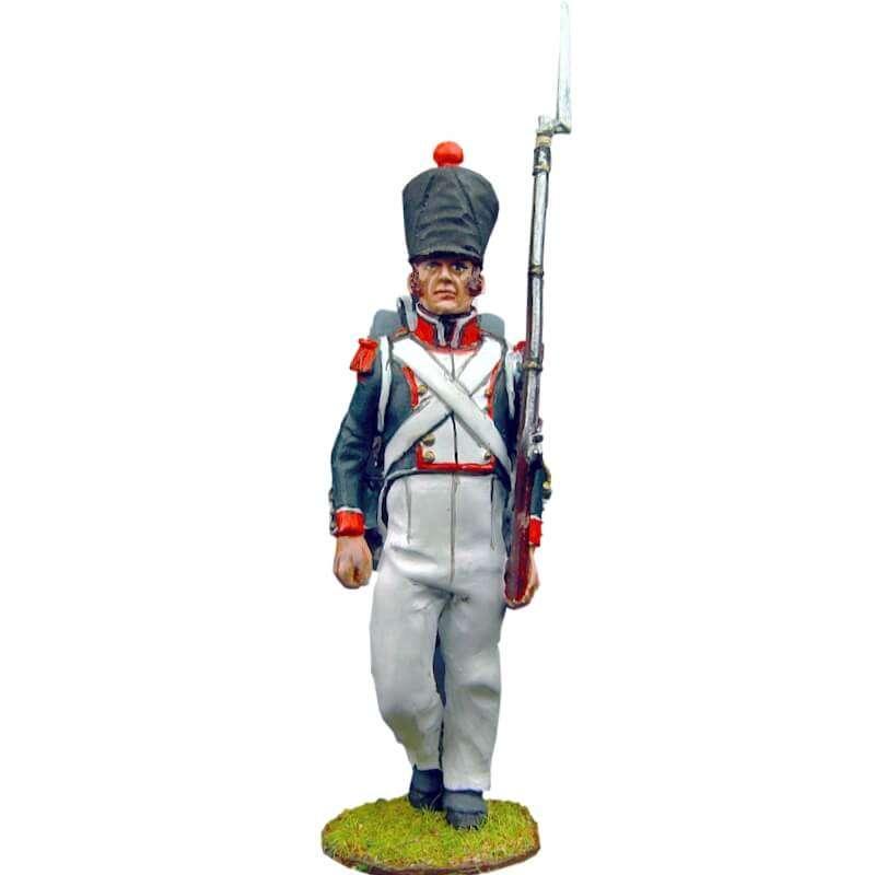 Soldado 3 granaderos línea francesa 1815