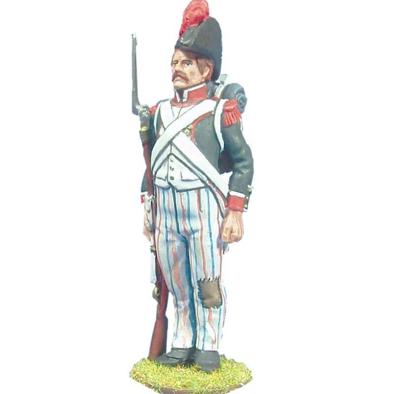 French line grenadier with bicorn 1804