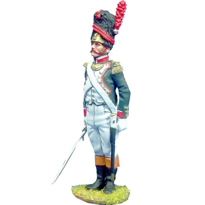 Oficial Granaderos línea 1804