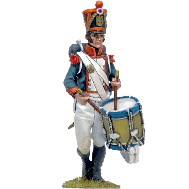 French line grenadier Waterloo drummer