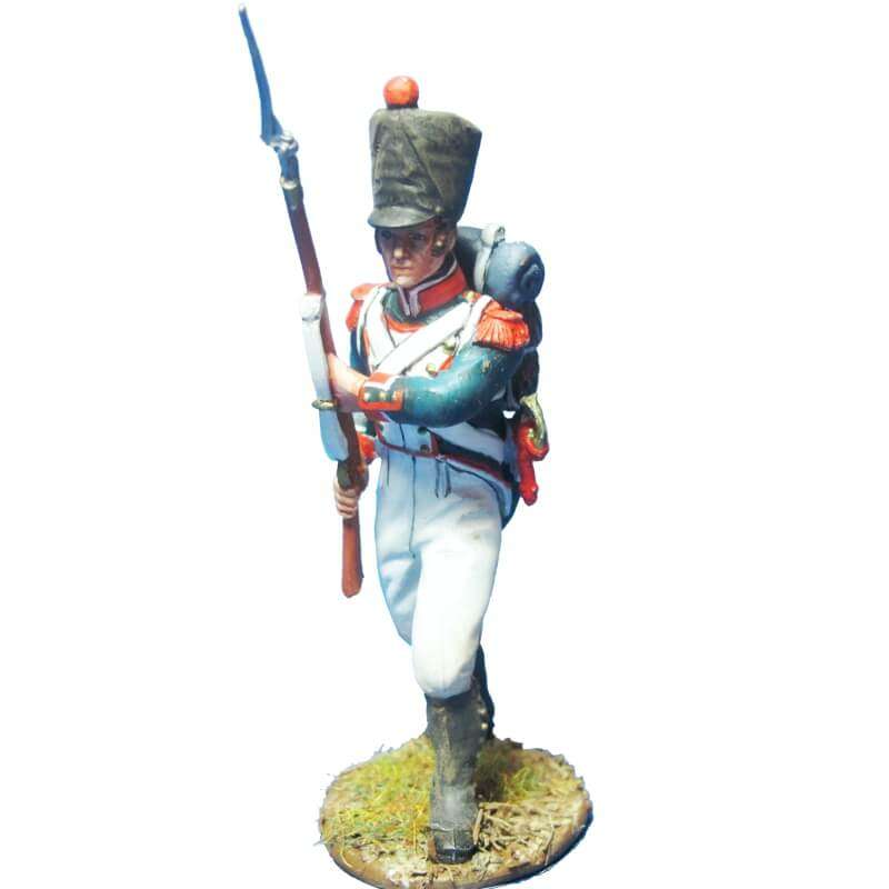 French line infantry grenadiers 1815 advancing 2