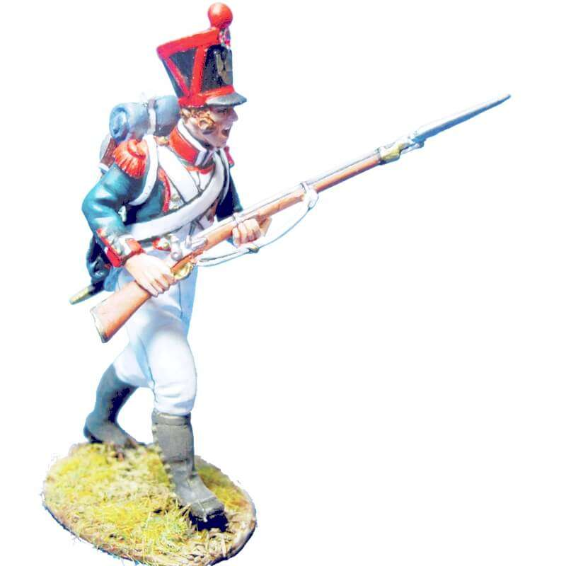 French line infantry grenadiers 1815 advancing 3