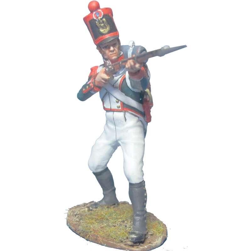 Granadero línea 1815 disparando
