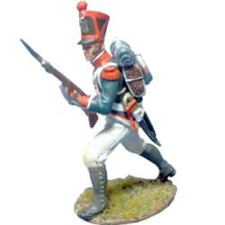 French line infantry grenadiers 1815 advancing 4