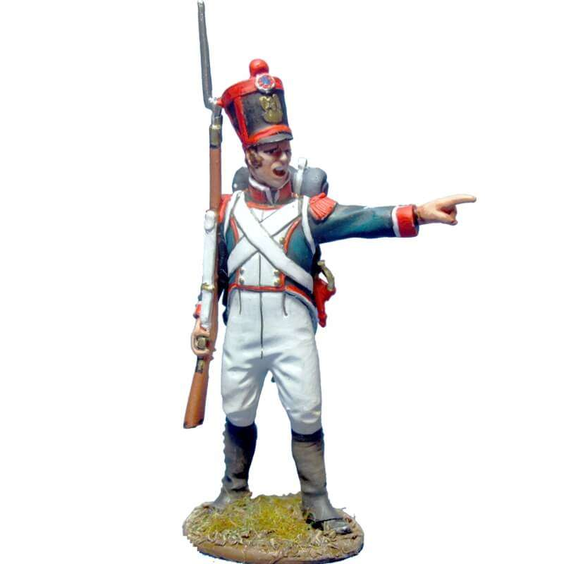 Sargento granaderos línea 1815