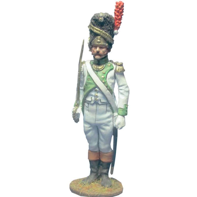 4th infantry regiment grenadier 1806 officer
