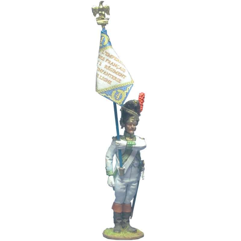 4th infantry regiment grenadier 1806 standard bearer