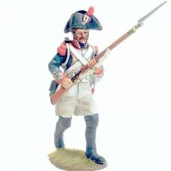 French line infantry grenadier 1805 advancing