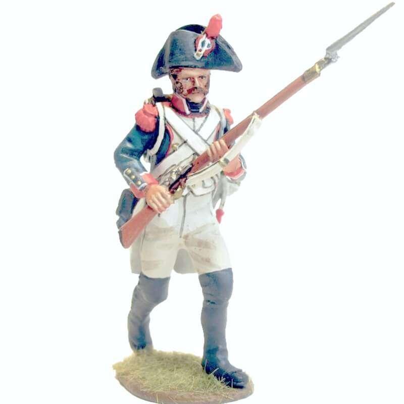 French line infantry grenadier 1805 advancing