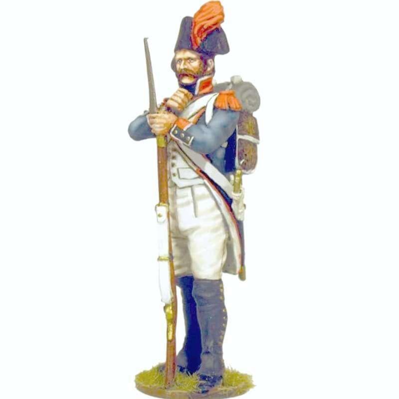 Granadero infantería línea francesa 1805 en descanso