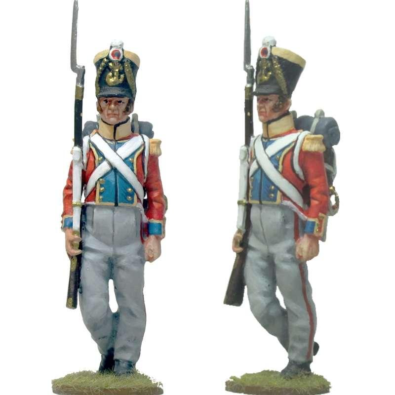 Sargento infantería línea francesa segundo regimiento suizo
